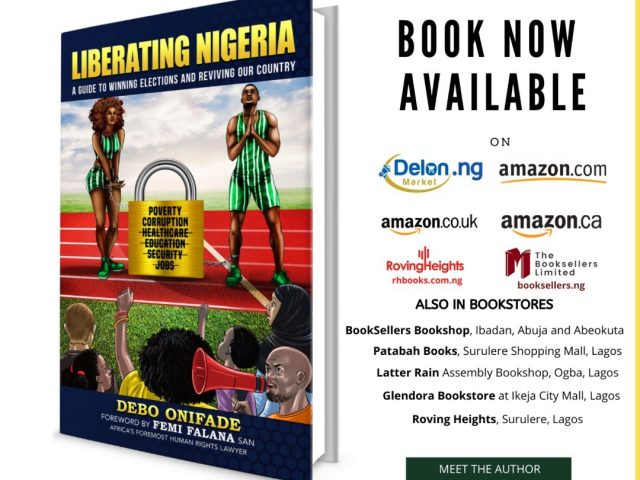 Debo Onifade Discusses His Book 'Liberating Nigeria'