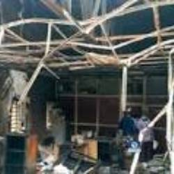 Nothing sensitive was destroyed in fire – INEC