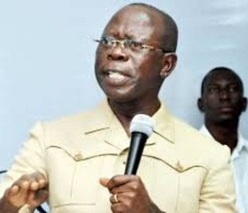PGF DG is fronting for Cowards – Oshiomole