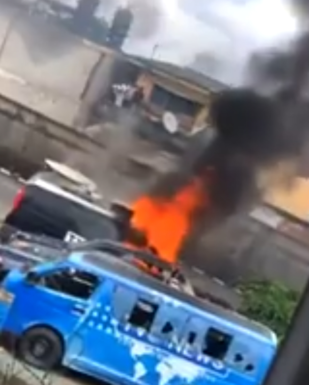 TVC set on fire | End SARS | We need to stop this violence and focus on politics: Liberating Nigeria